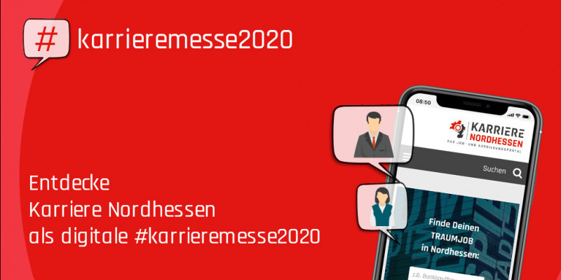 Initiative #karrieremesse2020 – Entdecke karriere-in-nordhessen.de als digitale Karrieremesse